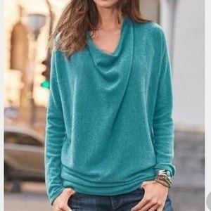 SUNDANCE | simple truths cashmere sweater S